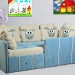 Выбираем диван для детской комнаты