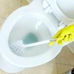 Генеральная уборка дома - унитаз