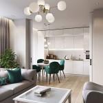 Планировка зон для ремонта в однокомнатной квартире