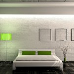 Белый кирпич в дизайне интерьера