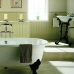 Старинный интерьер ванной комнаты
