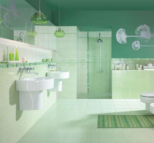 Стены и полы в ванной комнате