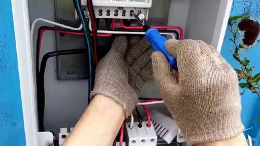Наращивание вводного кабеля в условиях невозможности его замены