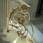 Элементы художественной ковки в интерьере