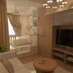 Зонирование комнаты, гостиной, спальни в дизайне интерьера