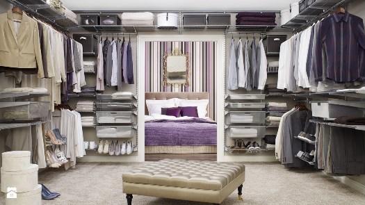 Как организовать гардеробную комнату