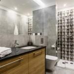 Как украсить ванную комнату в оттенках серого