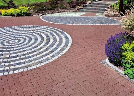 плитка для садовой территории