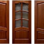 Двери из клееного бруса