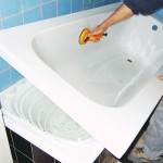 Технология установки акриловой вставки в старую ванну