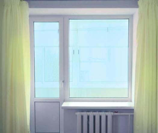 Монтаж балконного блока из ПВХ-окон