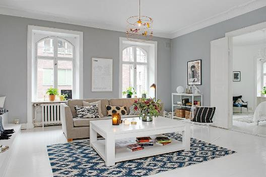 Скандинавский стиль - минимализм в квартире