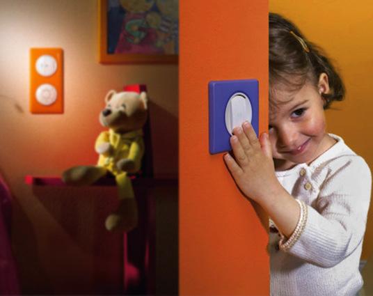 электрооборудование детской комнаты