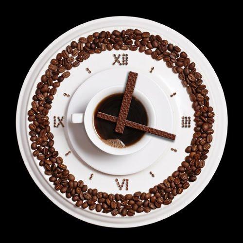 Часы кофе своими руками