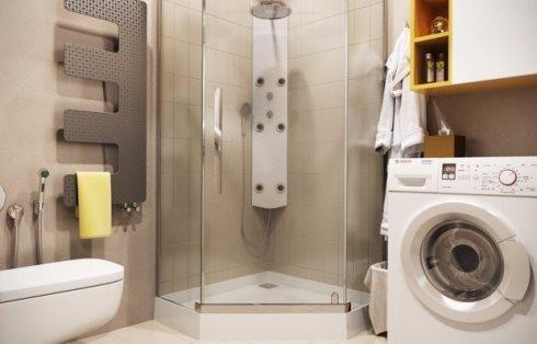 Делаем душ в небольшом санузле: советы