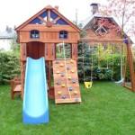 Детские площадки на даче