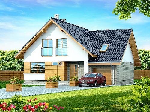 Строительство красивого и дешевого дома