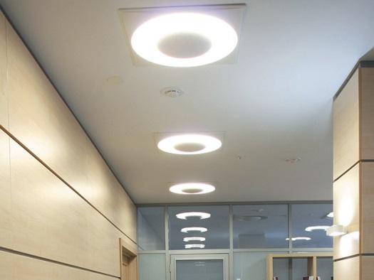 Как установить встраиваемые светильники в потолок